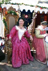merry courtesan at court
