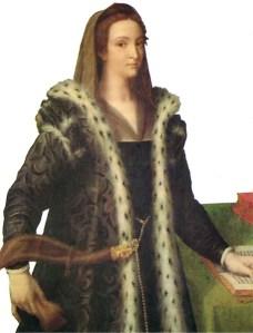1532 - Giulia Gonzaga by Sebastiano del Piombo (image source: Wikimedia Commons)
