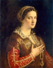 1555 - Unknown Lady by Francesco Salviati (image source: National Gallery of Art)