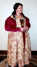 Gown & zimarra, photo by Sandra Linehan