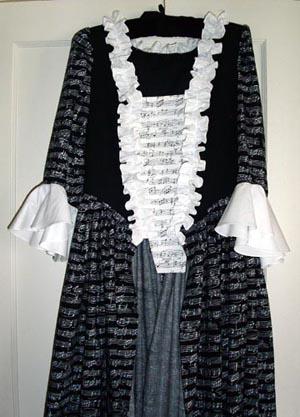 Cosi Fan Tutti gown with trim