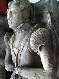 1544, Margaret Foljambe (de Villiers) from Staffordshire, image from Flickr