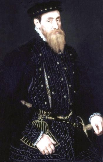 1565, Sir Thomas Gresham. Image source: Wikimedia Commons