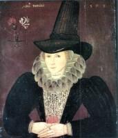 1595, Esther Inglis, Mrs Kello. Image source: Wikimedia Commons