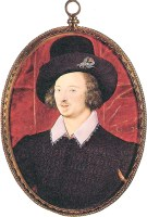1595, Sir Henry Slingsby by Nicholas Hilliard. Image source: Elizabethan-Portraits.com