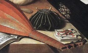 """1630s, detail from """"The Five Senses"""" by Lubin Baugin. Image source: Wikimedia Commons"""