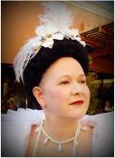 1590s wig & makeup, photo by Sandra Linehan