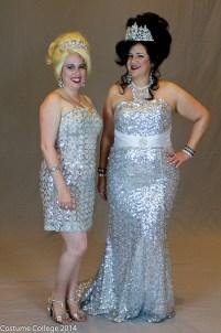 Sarah & Trystan in sequins. Photo by Andrew Schmidt
