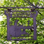 Bronte Parsonage Museum sign