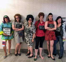 1960s bad girls at Costume College 2017