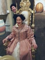 Craig photobombs the queen!