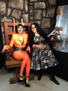 With Sharon Needles at DragCon 2018.
