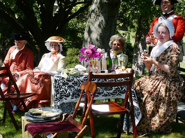 Lumieres 18th-c. picnic