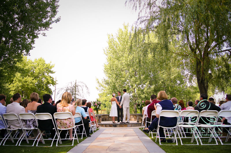 A Wedding at Hudson Gardens