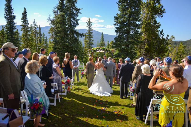 A Wedding at the V3 Ranch In Breckenridge