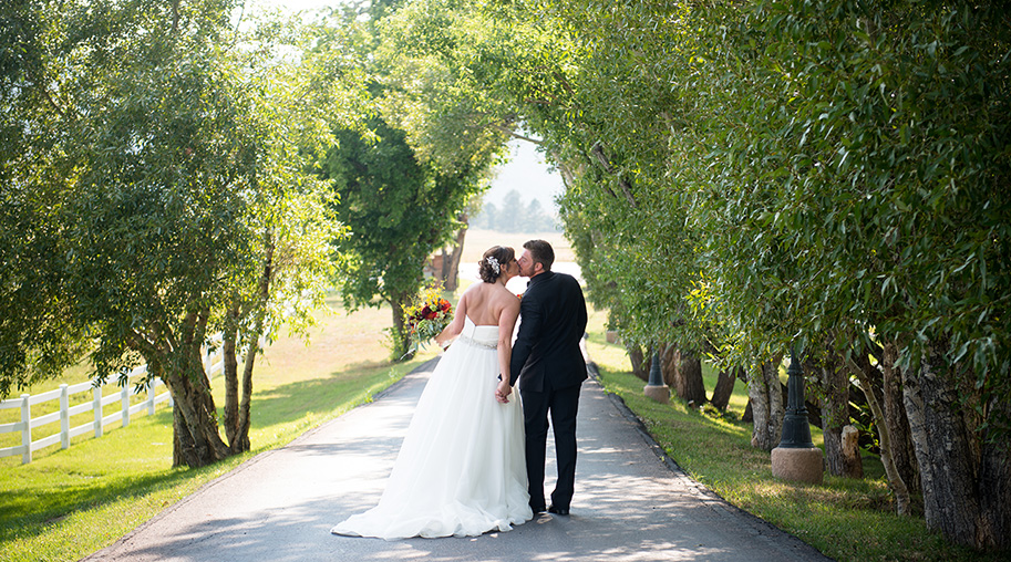 A wedding video captured at Crooked Willow Farms