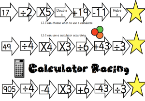 Calculator Racing