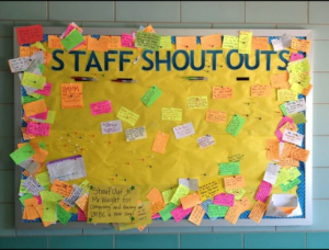 Staff Shout Out…