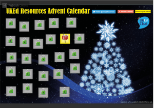 Teaching Resources Advent Calendar