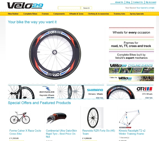 Velo29 Home Page