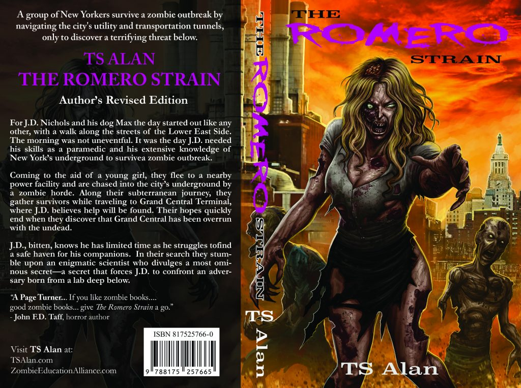 The Romero Strain (Author's Revised Edition) | TS Alan
