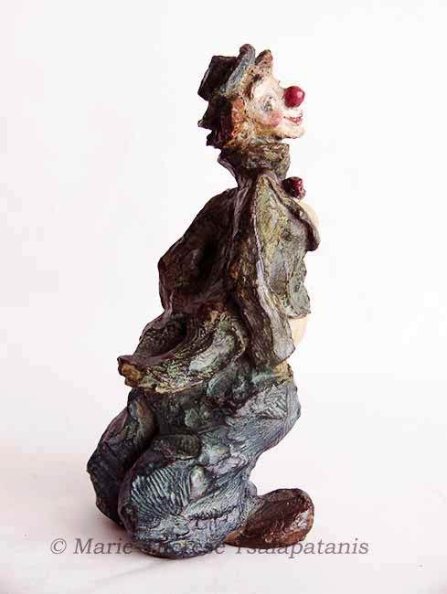 sculpture-marie-therese-tsalapatanis-clowne