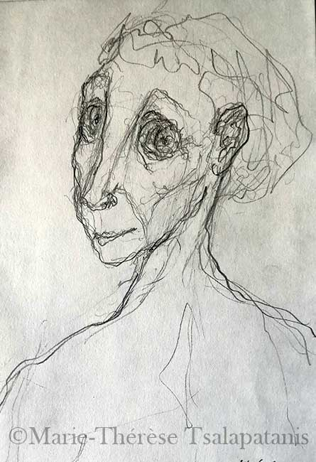 dessins-sculpture-marie-therese-tsalapatanis-passante