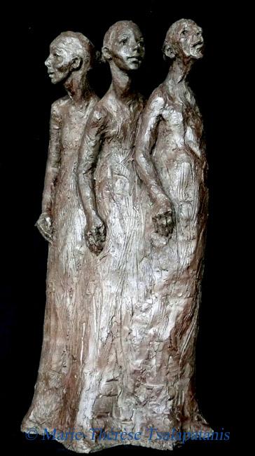 sculpture-marie-therese-tsalapatanis-Balade (2)