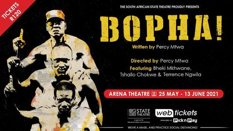 PERCY MTWA RESTAGES BOPHA!