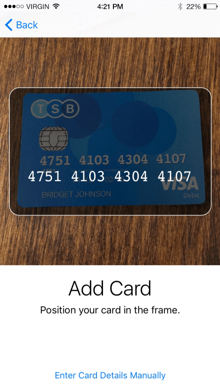 Pay Security Bank Credit Card