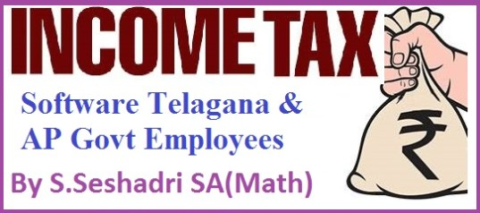 Income Tax Software FY 2018-19 by S.Seshadri SA(MM)