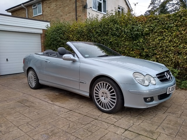 Read more about the article Mercedes CLK350 Sold