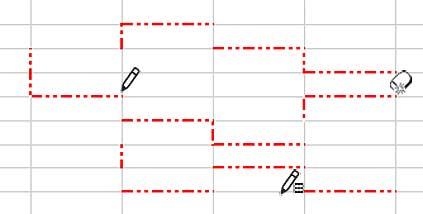 細かい罫線の消去サンプル