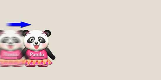 パンダの動き