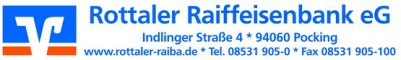 Rottaler RaiBa - Logo 2014