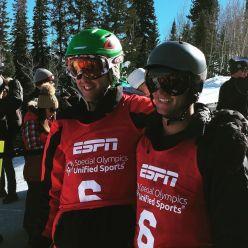 steve & Josh on slopes