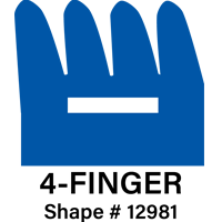 Duro Grip Rubber Gripper 4 Finger Style