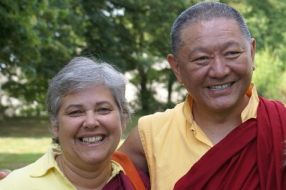 With Ringu Tulku Rinpoche