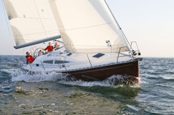 Take a meeting on the water with Delphia Charters