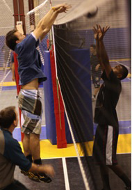 Grab some net action at the Victory Volleyball Academy