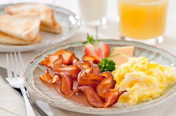 Treat the crew to a hearty breakfast from The Breakfast Gourmet
