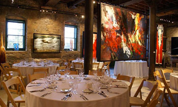 The Thompson Landry Gallery in the Stone Distillery Building in the Distillery District
