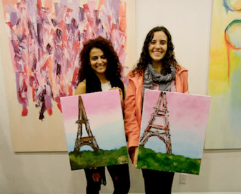 Discover the mastepiece within at Paintlounge