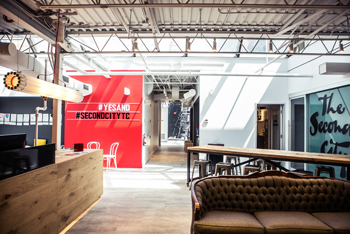 Second City has added a new training centre, lounge and theatre. Photo: Kirsten Miccoli