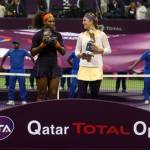 Victoria Azarenka wins the Qatar Total Open