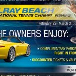 Porsche promotion for 2013 Delray Beach ITC