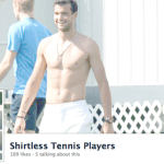 shirtless: youtube vids of tennis players
