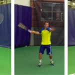 ucla men's tennis team shows off new adidas kit at 2013 ita indoors