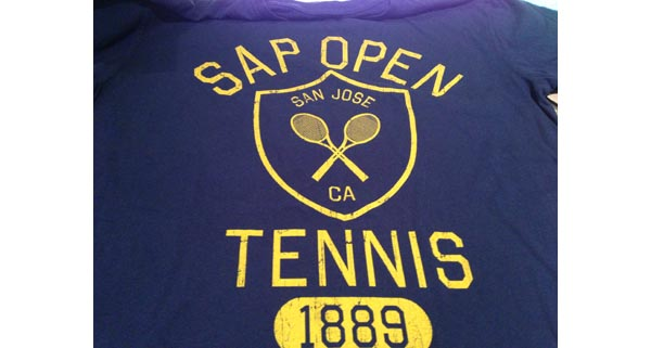 SAP Open - San Jose 2013 - Commemorative T-Shirt