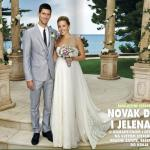 novak djokovic pics of marriage surface on the web